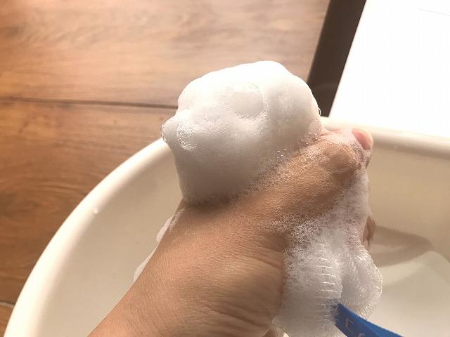 ジャムウハーバルソープ 泡