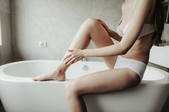 女性 風呂 ボディケア